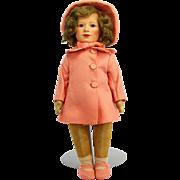 Vintage Chad Valley Princess Margaret Cloth Doll All Original
