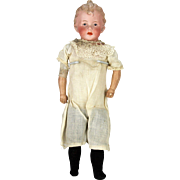Antique German Bisque Heubach Doll with Original body