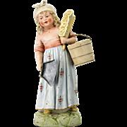 Antique Rare German Heubach Figurine