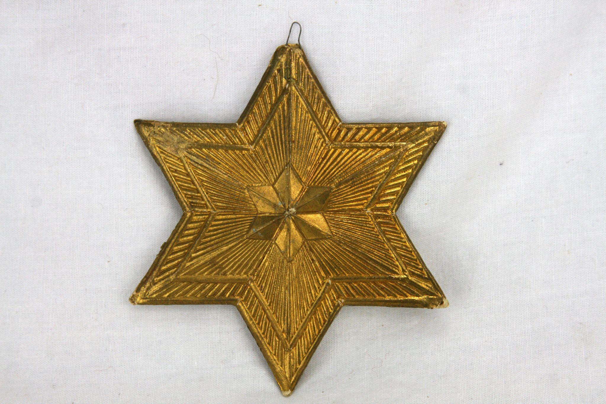 Gold star ornaments - Roll Over Large Image To Magnify Click Large Image To Zoom