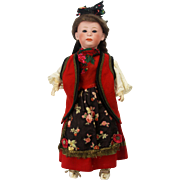Antique German Heubach Character Doll 13""