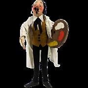 Vintage Kammer And Reinhardt German Cloth Stockinette Character Doll Painter