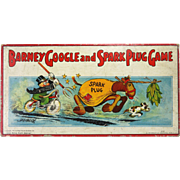 Vintage Milton Bradley Barney Google and Spark Plug Board Game ca1923