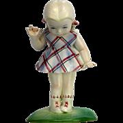 Vintage Rare Lenci Porcelain Figurine ca1920