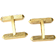 Man`s Cufflinks 18 k yellow gold circa 1950