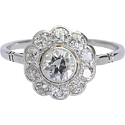 1.20 cwt sparkling Diamonds engagement ring circa 1915 s