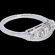 Art Deco 0.60 cwt diamond ring circa 1920 s