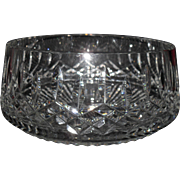 Exquisite Brilliant Waterford Cut Glass Lismore Salad Console Bowl