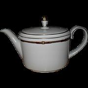 Wedgwood for Ralph Lauren Equestrian Bridle Trim Teapot 5 Cups