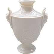 Diminutive Vintage Nymphenburg Amphora Vase with Figural Faun Handles