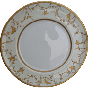 Gorgeous Royal Doulton Gold Butterfly Gilt Dinner Plate