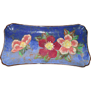 Vintage Royal Doulton Wild Roses Sandwich Tray D6227 1951