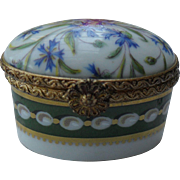 Vintage 1737 Ancienne Manufactur Royale Limoges Pill Box
