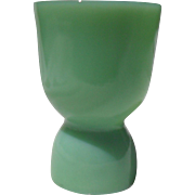 Anchor Hocking Fire King Jadeite Double Eggcup
