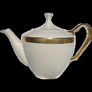 Lenox Lowell P 67 Gold Backstamp 24 kt Gold Encrusted Teapot