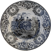 Boch Freres Military Napoleonic Battles Bataille d'Iena Cabinet Plate