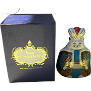 Royal Crown Derby Royal Cat Persian Figurine Paperweight