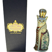 Royal Crown Derby Royal Cat Russian Figurine Paperweight