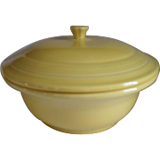 HLC USA Fiesta Fiestaware Yellow Covered Casserole