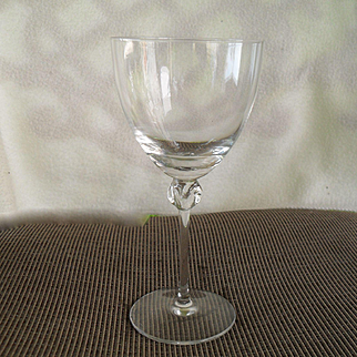 Daum France Nancy Bolero Water Goblet