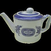Copeland Spode Blue Fitzhugh Chinoiserie Fine Stone Teapot