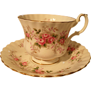 Royal Albert Lavender Rose Teacup and Saucer