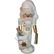Christian Ulbricht Nutcracker White Santa Original Box/Tag