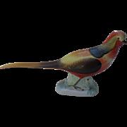 Stunning Vintage Herend 5080 Golden Pheasant Figurine