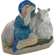 Royal Worcester Figurine 'Little Boy Blue' FG Doughty 3306