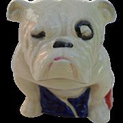 Large Royal Doulton Bulldog Figurine Draped in Union Jack 1915