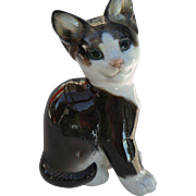 Sweet Faced Rosenthal European Cat Prof T. Karner Figurine