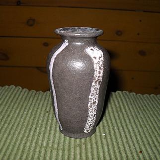 Vintage Miniature Scheurich Keramik 1970's Fat Lava Thick Glaze Vase 601-10