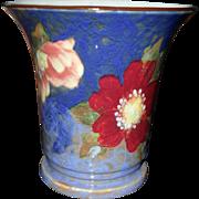 Vintage Royal Doulton Wild Roses G Flared 8093 Vase D6227 1951