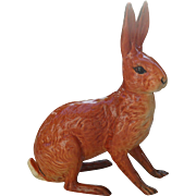 Rare Beswick Seated Hare 1025 Figurine