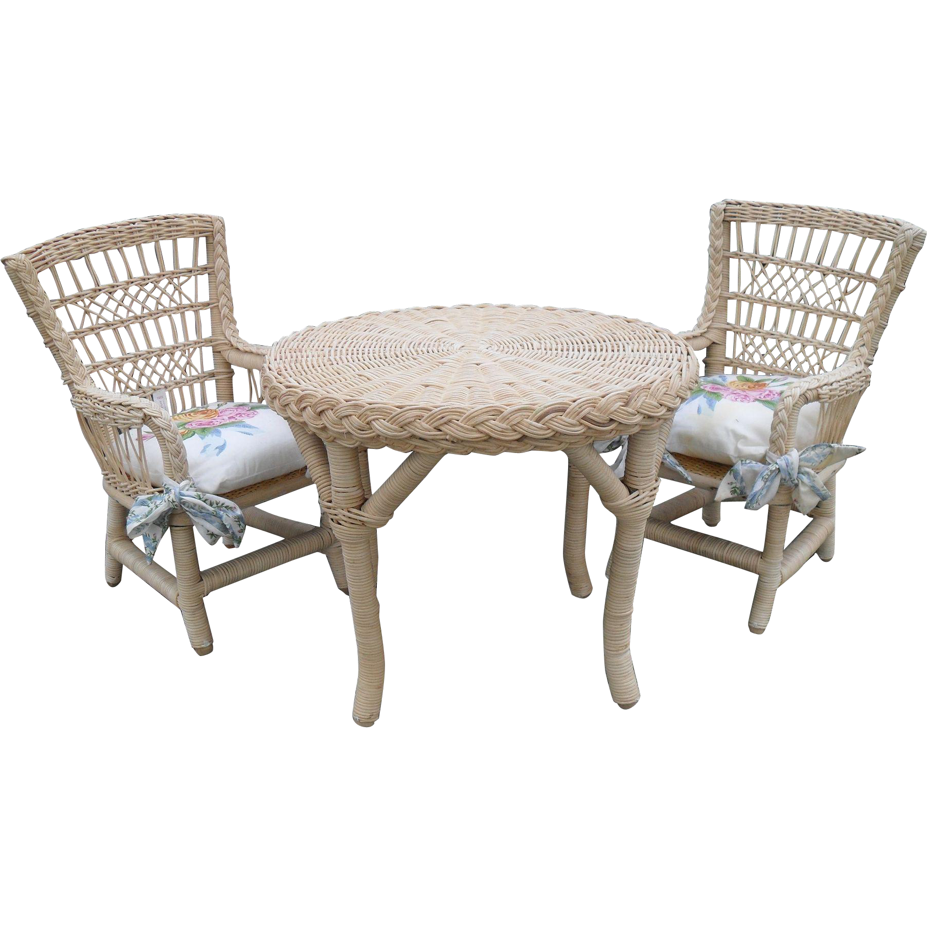 Pleasant company ag american girl samantha three piece for American rattan furniture manufacturer