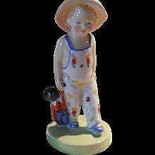 Rare Royal Doulton HN 1979 L. Harradine 'Golliwog' Figurine