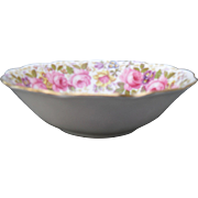 Royal Albert Serena Pink Roses Floral 839329 Coupe Cereal Bowl