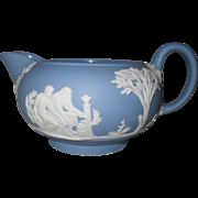 Wedgwood Blue Jasperware Creamer
