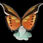 Goebel Monarch Butterfly 3928 1950 Porcelain Figurine