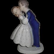 B & G Bing and Grondahl Denmark First Kiss 2162 Figurine