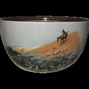 Vintage Copeland Lionel Edwards No. 9 & 10 Fox Hounds Equestrian Bowl