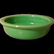 """Vintage Fiesta Fiestaware 5 1/2"""" Green Fruit Bowl"""