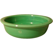 "Vintage Fiesta Fiestaware 5 1/2"" Green Fruit Bowl"