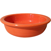 "Vintage Fiesta Fiestaware 5 1/2"" Red Fruit Bowl"