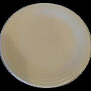 """Vintage Fiesta Fiestaware 9 1/2"""" Ivory Dinner Plate"""