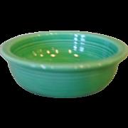 """Vintage Fiesta Fiestaware 4 3/4"""" Green Fruit Bowl"""