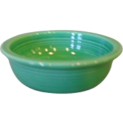 "Vintage Fiesta Fiestaware 4 3/4"" Green Fruit Bowl"