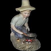 Royal Doulton River Boy HN 2128 Artist Signed Figurine