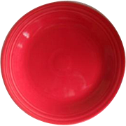 "HLC USA Fiesta Fiestaware Scarlet Red 9"" Plate"