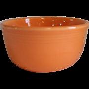 "HLC USA Fiesta Fiestaware Orange Gusto Bowl 6"""